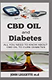 CBD oil and Diabetes: All you need to know about