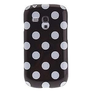 YXF Spot Pattern Soft Protective Back Case for Samsung Galaxy I8090 , Orange