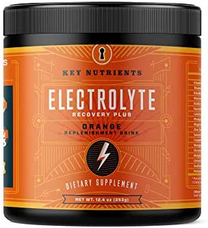 Electrolyte Powder, Orange Hydration Supplement: 90 Servings, Carb, Calorie & Sugar Free, Delicious Keto Replenishment Drink Mix. 6 Key Electrolytes - Magnesium, Potassium, Calcium & More.