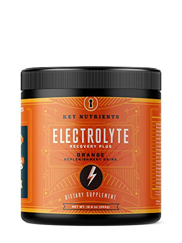 Electrolyte Powder Orange Hydration