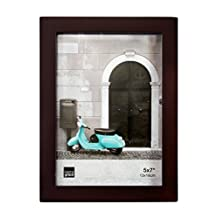 Kiera Grace Contempo Picture Frame, 5 by 7-Inch, Espresso