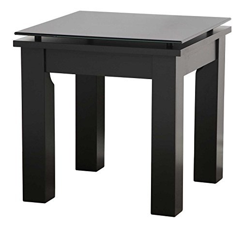 (The SL Series Modern Glass Top Accent Table Collection by Plateau)