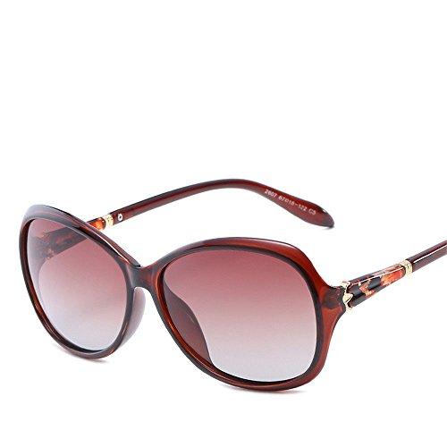 Chahua Lunettes de soleil brillant fashion big box lunettes de soleil, lunettes de soleil, résistant aux UV