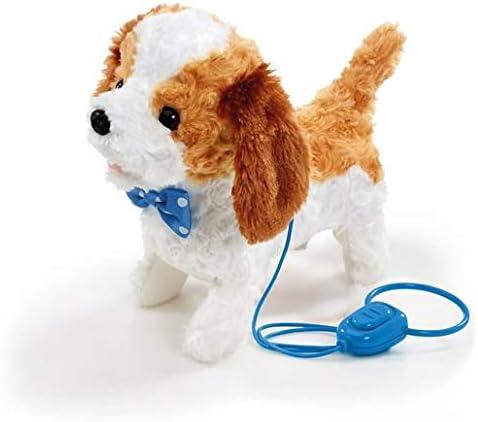 Pitter Patter Pets Walk Along Puppy Spaniel Aboie et Remue la Queue Peluche de Chien Qui Marche