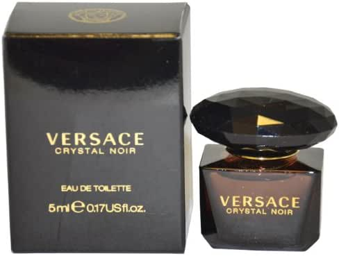 Versace Crystal Noir for Women Eau de Toilette Splash, 5ml
