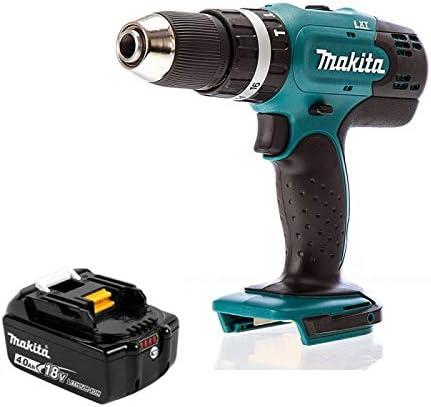 Makita DHP453Z 18 Volt LXT Cordless Combi Drill With 1 x 4.0Ah BL1840 Battery