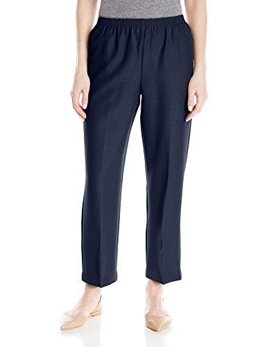 (Alfred Dunner Women'S Petite Short Pant, Navy,)