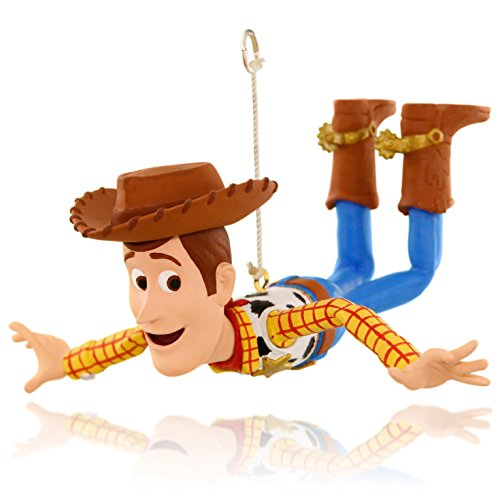 Hallmark Keepsake Ornament: Disney/Pixar Toy Story Woody is on a Mission (Christmas Toy Story Ornament)
