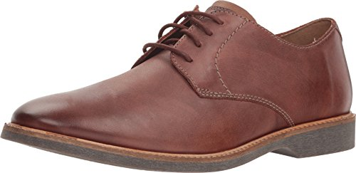 CLARKS Atticus Lace Mens Oxford Shoes Mahogany Leather 26136156 (7 D(M) ()