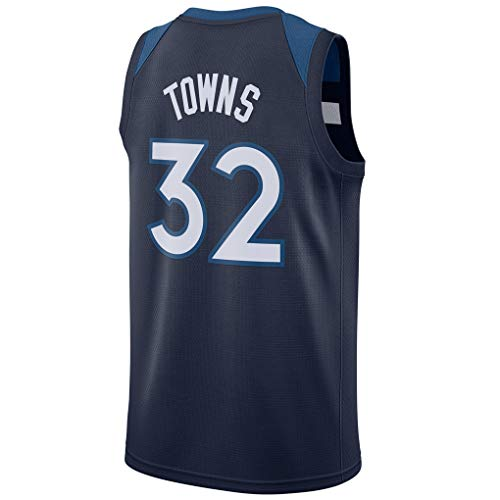 Ao Fer Nema Men's_Karl-Anthony_Towns_Navy_Basketball Jersey Fans Replica Game Jersey Quality Sportswear