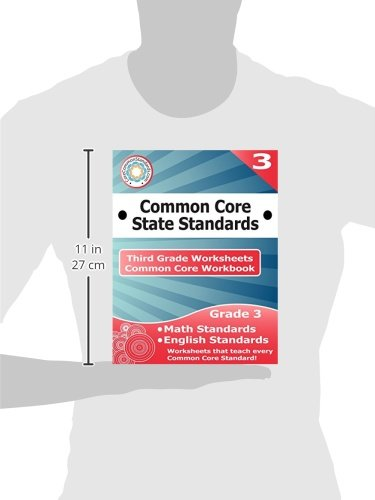 Workbook 3 grade worksheets : Third Grade Common Core Workbook: Worksheets: CoreCommonStandards ...