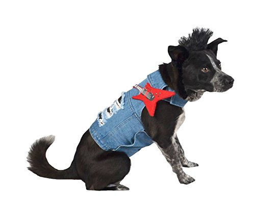 Hyde & Eek Boutique Rockstar Dog Costume Set - Small/Medium ()