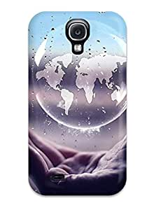Top Quality Case Cover For Galaxy S4 Case With Nice World In My Hand Appearance