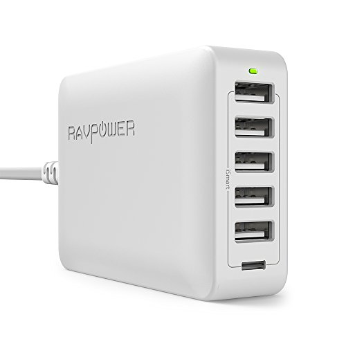 RAVPower Charger Charging Station MacBook