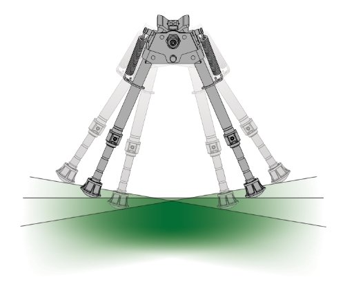 Series S Bipod- 6-9 Harris Engineering S-Br by Harris Engineering (Image #1)
