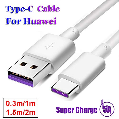 Type C USB-C Date Sync Charger 5A Fast Charging Cable for Huawei P20 Lite Pro P10 Mate 10 (2m) by OUTOPEN (Image #4)