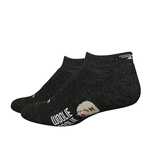 DeFeet Men's Woolie Boolie Lo Sock, Black, Small