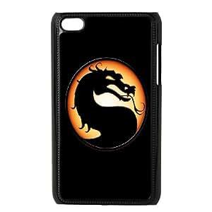 Mortal Kombat iPod Touch 4 Case Black&Phone Accessory STC_971424