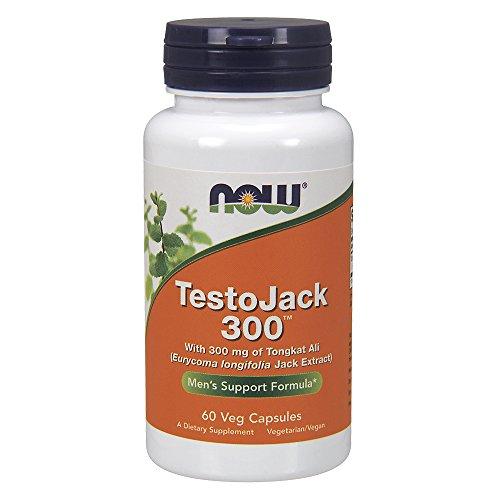 TestoJack 300 Vcaps Now Foods