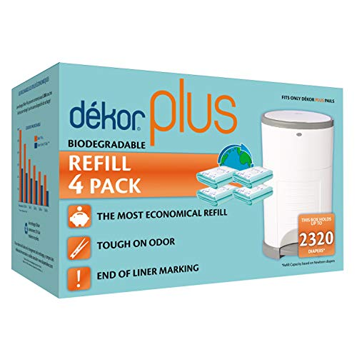 Diaper Dekor Plus Biodegradable Refills - Dekor Plus Diaper Pail Biodegradable Refills