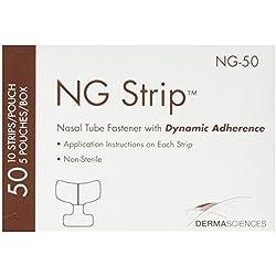 Derma Sciences NG50 Nasal Tube Fastener, Adult (Pack of 50)