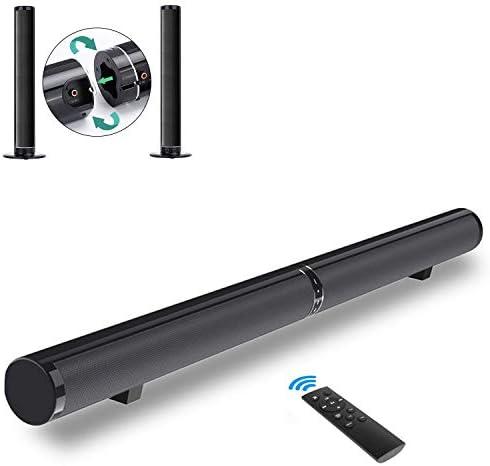 -50W 40 Inch TV Sound Bar Speaker Bluetooth 4.2, 2.0-Channel
