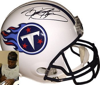 promo code 0251e 57c53 Amazon.com: Derrick Henry Signed Autograph Tennessee Titans ...