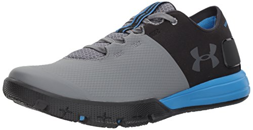 Under Armour Men's Charged Ultimate 2.0, Black/Mako Blue/Gra