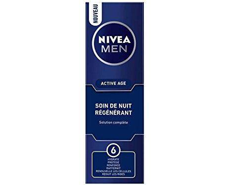 Uomini Nivea Attivo Crema Rigenerante Notte 50ml Age Beiersdorf