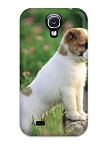 New UKZYNva690xBAXg Amazing Cute Dog Skin Case Cover Shatterproof Case For Galaxy S4 by Maris's Diary