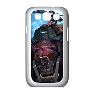 Samsung Galaxy S3 9300 Cell Phone Case White League of Legends Bear Cavalry Sejuani SH3861838