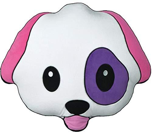 Dog Pillow Designer (iscream Bubble Gum Scented Emoji Dog Embroidered Accent 18