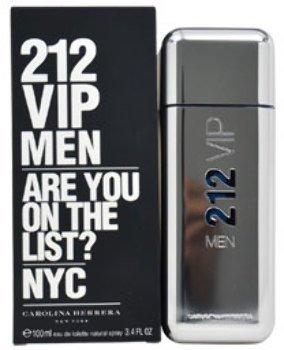 Men Carolina Herrera 212 VIP EDT Spray 3.4 oz 1 pcs sku# 1785978MA