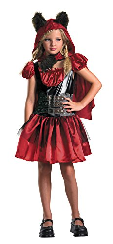 Morris Costumes LIL RED RIDING RAGE 7-8 (Couples Caveman Costumes)