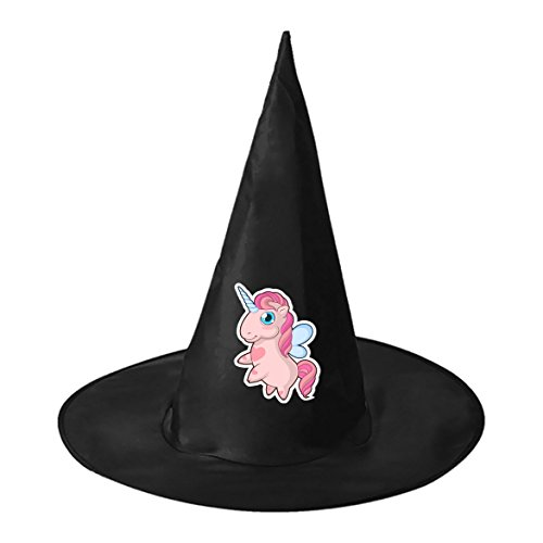 Cute Halloween Outfits Homemade (Chubby Cute Unicorn Cosplay Witch Hat Toy to Costume Accessory Halloween Ball for Kids Adults)