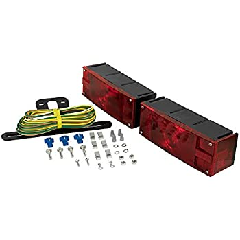 41n7cVKFz3L._SL500_AC_SS350_ amazon com blazer c6423 square trailer light kit red automotive Wiring for Hampton Bay Ceiling Fan Light Kit at gsmx.co