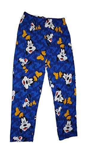 Disney Goofy Allover Mens Pajama Pant Royal ()