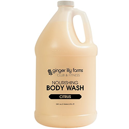 Ginger Lily Farms C and F Formula Body Wash, Citrus Gallon, 128 Ounce - Citrus Gel Cleanser