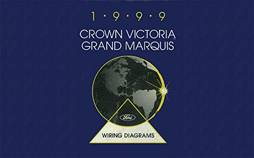bishko automotive literature 1999 Ford Crown Victoria Grand Marquis Electrical Wiring Diagrams Schematic Book