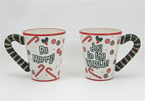 - Ganz - Ceramic - Christmas Mug Set of Two