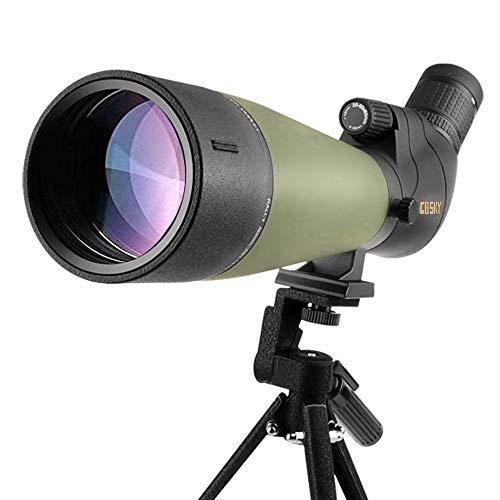 Lunette de visée Gosky Update 20-60x80 avec trépied, Sac de Transport et Adaptateur de téléphone - télescope coudé BAK4… 3