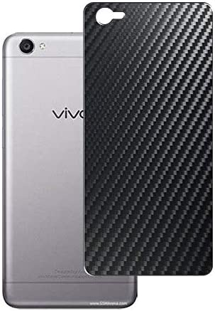 Vaxson 2-Pack Back Protector Film, compatible with Vivo Y55L, Black Carbon Fiber Guard Cover Skin [Not Tempered Glass/Not Front Screen Protectors]