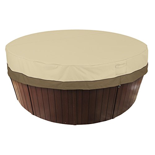 Classic Accessories 55-584-011501-00 Veranda Round Hot Tub Cover