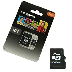 Acce2S-Tarjeta de memoria microSDHC de 2 GB para SFR STARTRAIL 4, MICRO SD, adaptador SD
