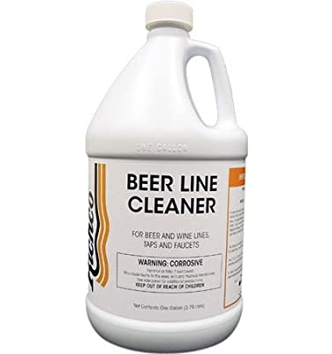 Beer Line Cleaner, non-foaming liquid cleaner - 4 Gallons