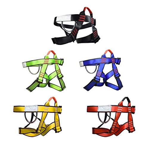 클라이밍 하네스 안전대 하네스 안전 벨트 반신 소방 등산 클라이밍 로프 매달림 하강 보호 장비