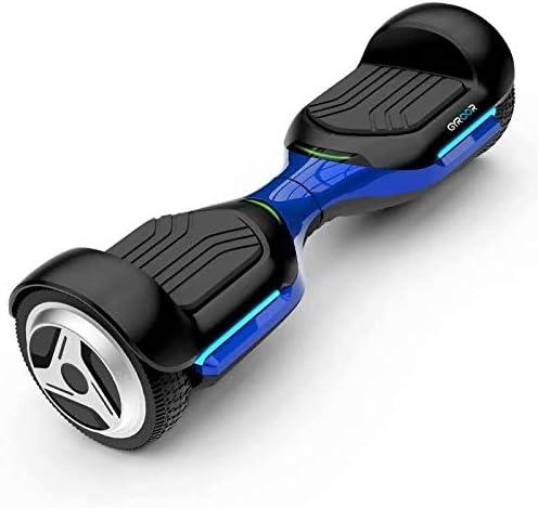 Coche eléctrico de equilibrio de dos ruedas somatosensorial de dos ruedas para niños juguete de música para caminar para adultos de 6.5 pulgadas