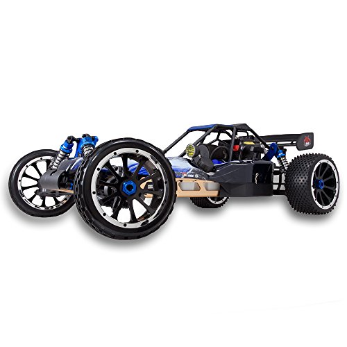 Gas Powered Go Karts - Redcat Racing Rampage DuneRunner V3 4x4 Gas Buggy (1/5 Scale), Blue/Black