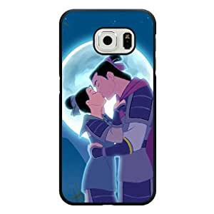 Samsung Galaxy S6 Edge Case, Customized Disney MuLan Black Hard Shell Samsung Galaxy S6 Edge Case, MuLan Galaxy S6 Edge Case(Only Fit for Galaxy S6 Edge)