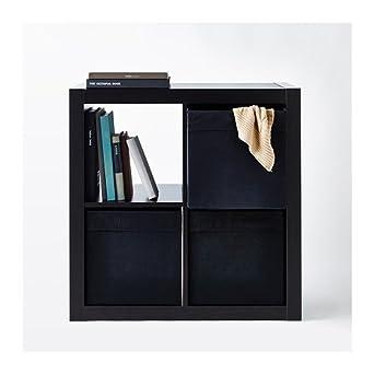 lkea Drona - Caja de almacenamiento negra, 33 x 38 x 33 cm ...